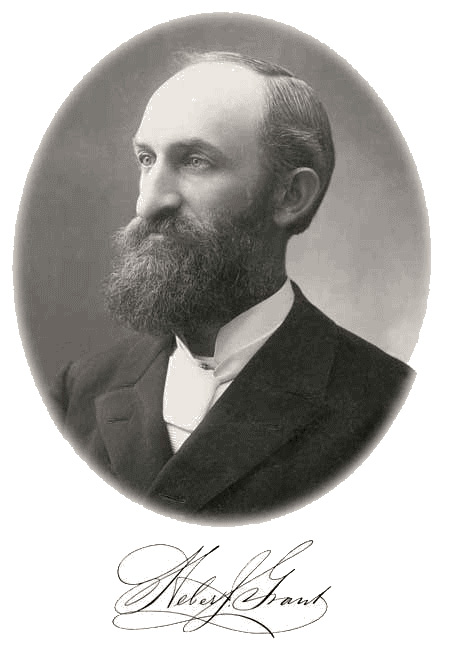 Heber J. Grant portrait and signature