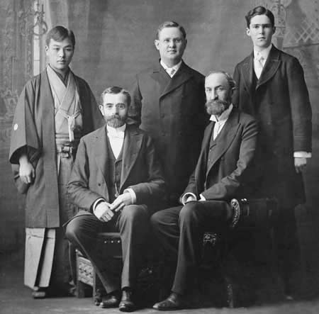 Early missionaries in Japan