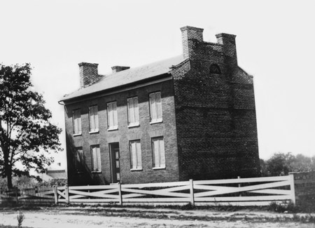 Wilford Woodruff home in Nauvoo
