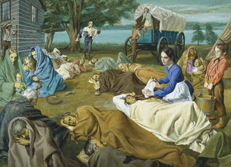 Joseph healing the sick