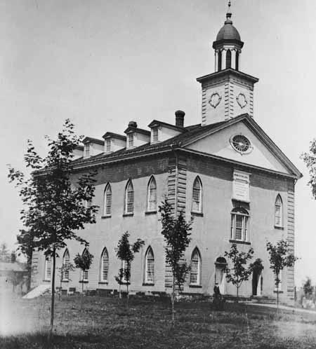 The Kirtland Temple circa 1900.