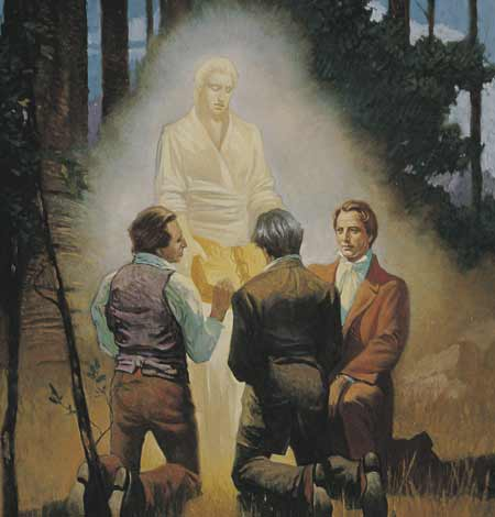The Three Witnesses were Oliver Cowdery, David Whitmer, and Martin Harris.