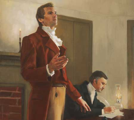 Joseph Smith's revelations frequently came as answers to prayers.