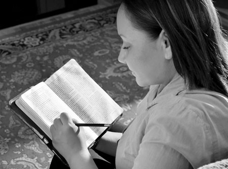 Scripture study brings greater knowledge of God.