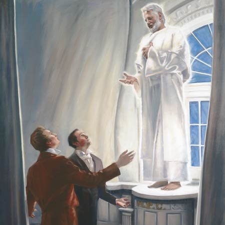 The dedication of the Kirtland Temple was attended by many heavenly manifestations.