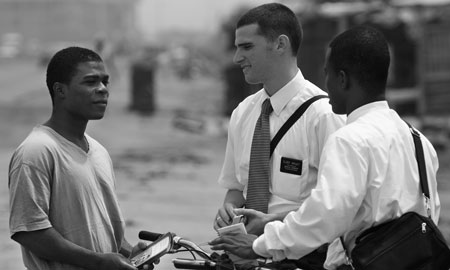 Missionary work brings many special blessings.