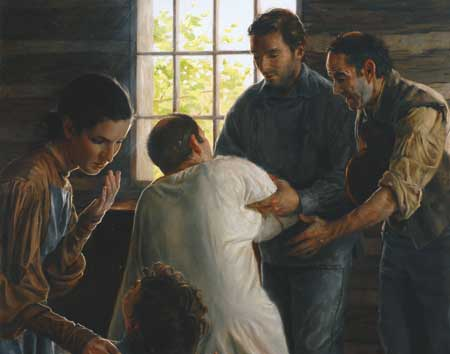 Among the spiritual gifts of the Summer of 1839 were many miraculous healings.