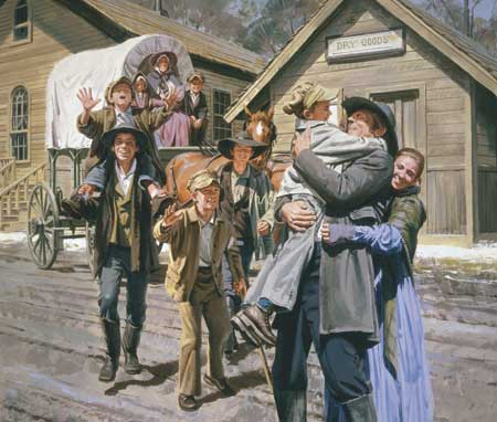 Joseph Smith grew up in a home where love and respect abounded.