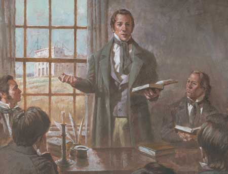 Joseph Smith spent his last months tutoring the Quorum of the Twelve Apostles.