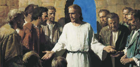 christ with apostles after resurrection
