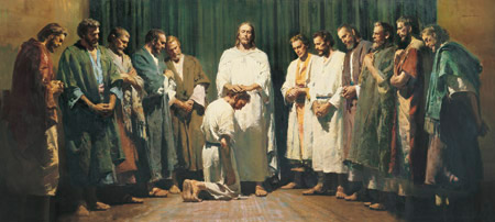 Christ ordaining the apostles