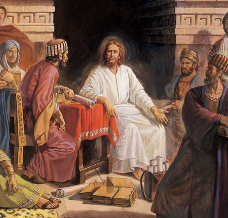 Christ teaching