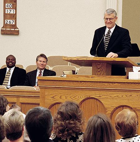 Mormon Bishop Gives Head