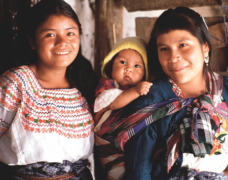 Guatemalan mother