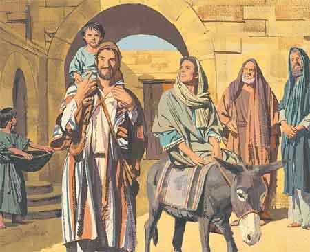 Joseph returns to Nazareth
