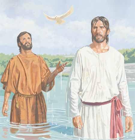 La vida de Jesús: El bautismo de Jesús