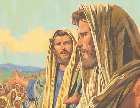 New Testament Stories Chapter 28: Jesus Feeds 5,000 People