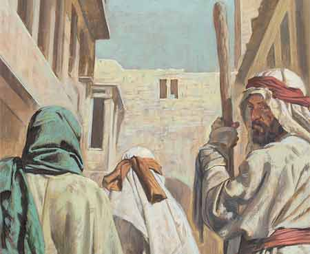 Jesus told lepers to see the priests