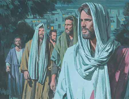New Testament Stories Chapter 51 Jesus Suffers in the Garden of