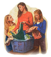 Developing talents, helping with household chores