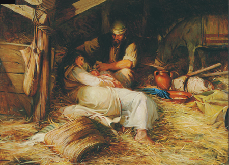an explication of the birth of jesus christ And why is the christians prophet named jesus christ  in arabic, and jesus  messiah in hebrew, have one meaning, and that is the anointed one.