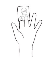 finger puppet diagram