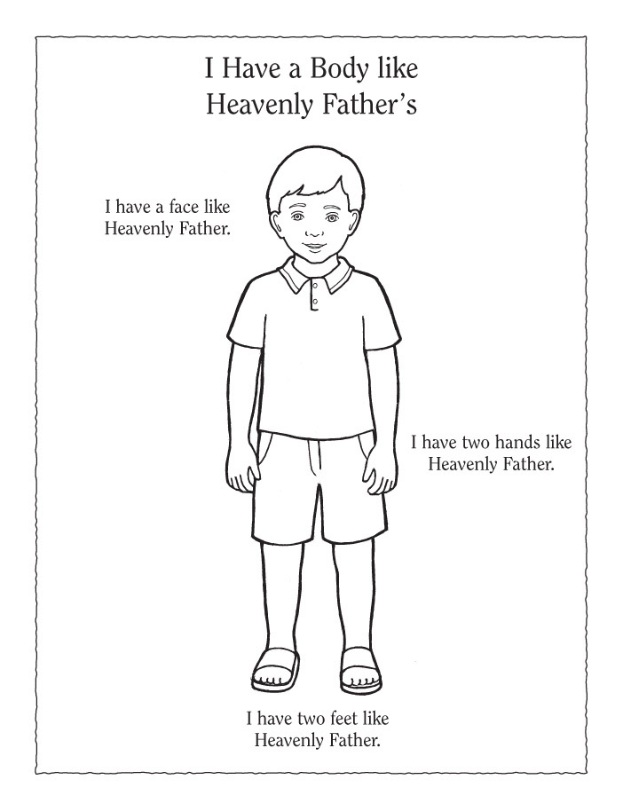 Lesson 9 I Have A Body Like Heavenly Fathers