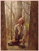 Joseph in Sacred Grove