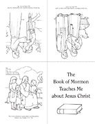 coloring page, Book of Mormon book