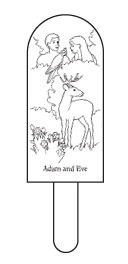 Adam and Eve puppet diagram