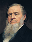 Präsident Brigham Young
