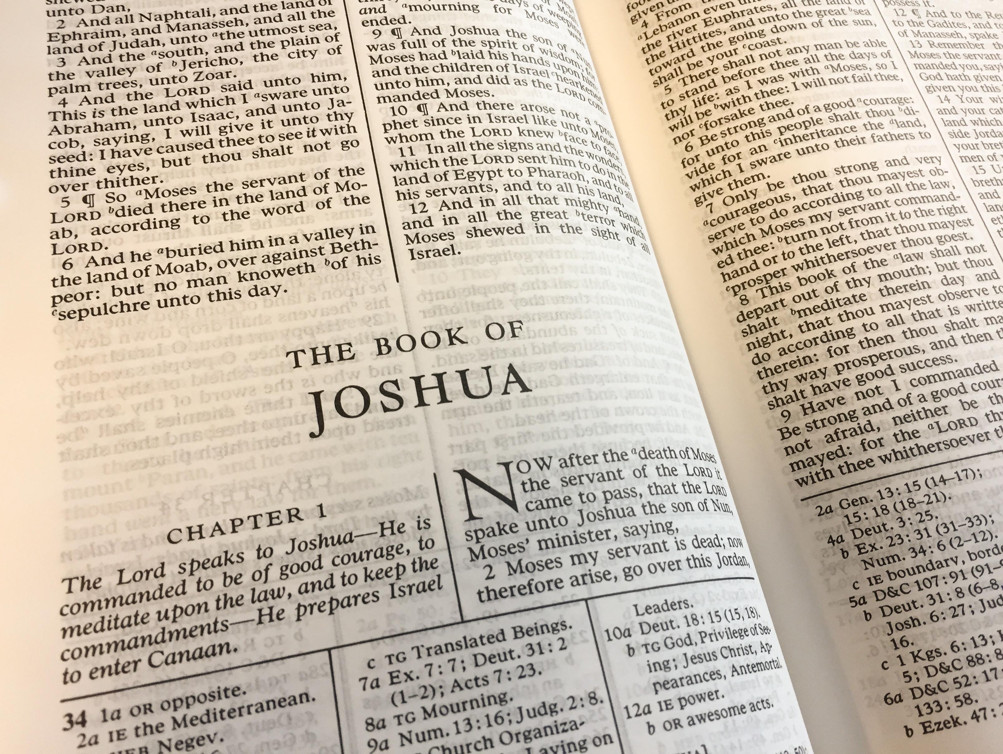 Lesson 77: Joshua 11–24