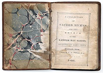 1835 hymnbook