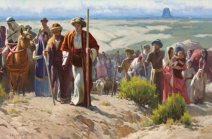 The Jaredites Leaving Babel
