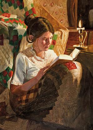 Mary Lightner Reads the Book of Mormon