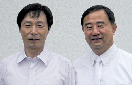 Mr. Park and Elder Choi