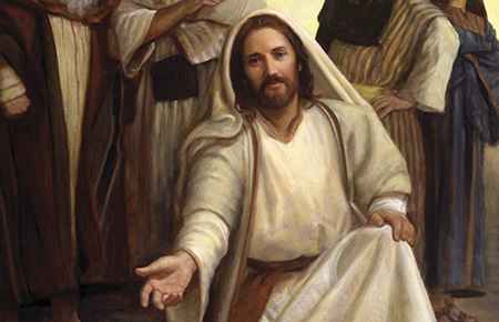 Image result for JEsus Christ serving others lds