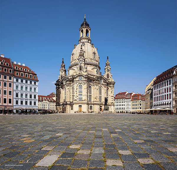 Frauenkirche is a monument to hope.