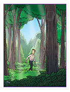 Sacred Grove hidden picture