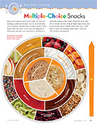food choices wheel