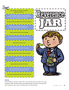 reverence jar word strips