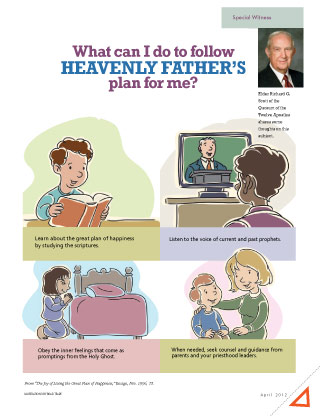 follow Heavenly Father's plan