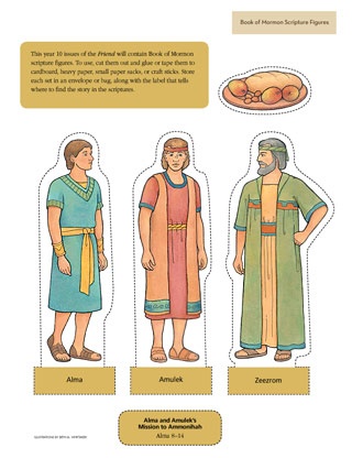 Alma and Amulek scripture figures