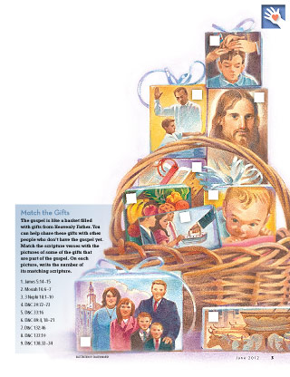 basket with pictures