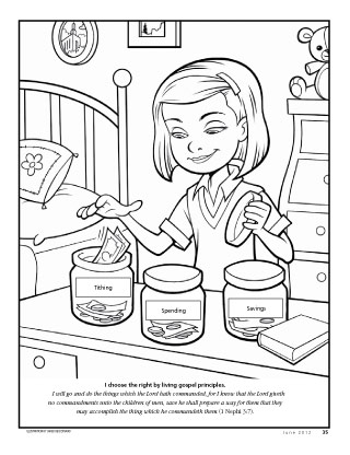 for little friends on money coloring pages