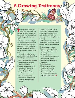 testimony page
