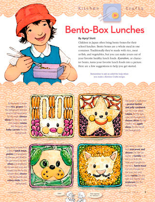bento-box lunches