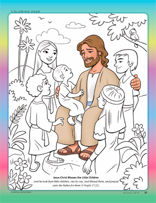 Jesus Christ with children