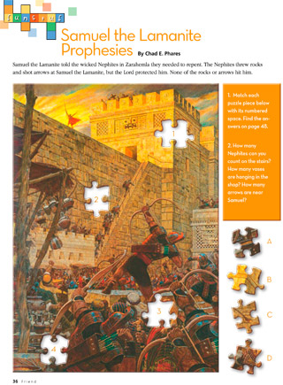 Samuel the Lamanite puzzle