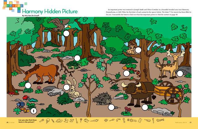 hidden picture puzzle